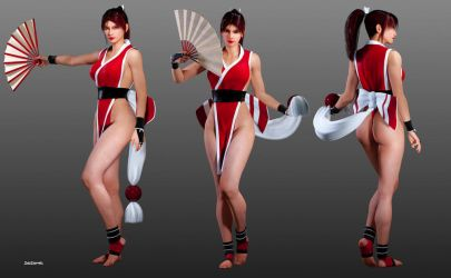 Mai Shiranui - Real Bout Special by ZabZarock