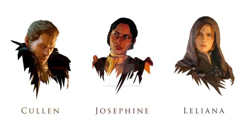 Dragon Age: Inquisition Advisors by Progenitor89