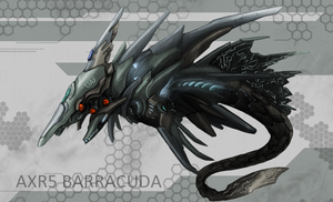 Barracuda Hunter Drone by Nymbryxion101