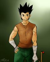 If Gon was Ging's Age by KayJay-O