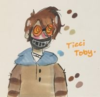 re-draw of tOBY. by asharoot