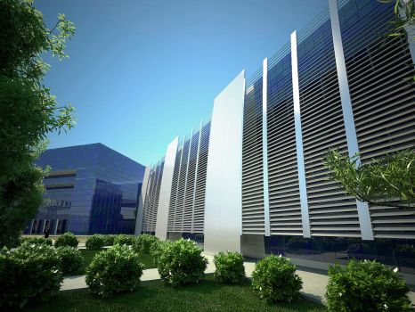 New TV Building by mostafasami