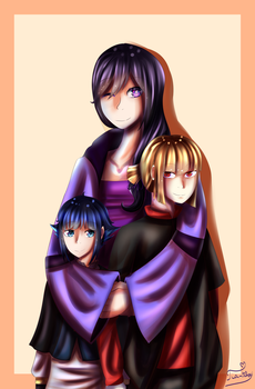 Firefly Family Picture by Tia-Tchou
