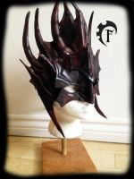 Brown mage mask :) by Feral-Workshop