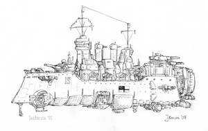 Hastings-class dreadnought by JanBoruta
