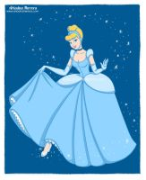 Cinderella fan art, Disney princesses collection by ariartna