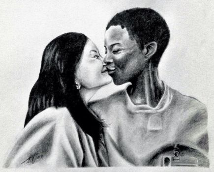 OITNB - Soso and Poussey by HaruXHaru