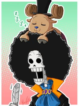 OP: Afros Equal Love by BechnoKid