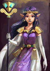 Princess Hilda by Alderion-Al
