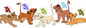 Lion King Cub Adoptables by BrizzAdoptsXX