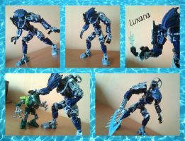 Bionicle MOC:Luxana(OoMN espionage expert) by TheAxelandx1