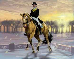 Dressage   Green Moorlands Stable Winter Show by DalRiataStables