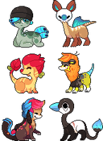 the colorful gang by RRRAI
