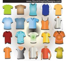 T-shirt Templates by VELAVAN