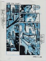 IDW TMNT One Page Ten by Kevineastman