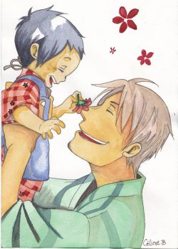 Pere et fils - Chichikogusa by Sakuchane