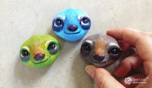 WIP Mini Sloths by LimitlessEndeavours