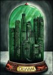 Postapocalyptic bottle cities 1. - Diluvium by Alerazz501