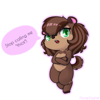 Angry Chipmunk by Roxandasher
