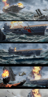 Ocean at War - Early Concept Explorations by zeedurrani