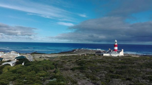 LightHouse- Where Two Oceans Meet by MichaelJFourie