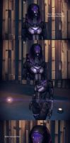 Mass Effect 3 Texmod : Tali From Ashes Armor HR HQ by droot1986