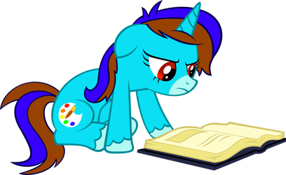 OC Pony Vector - Speed Paint by hombre0