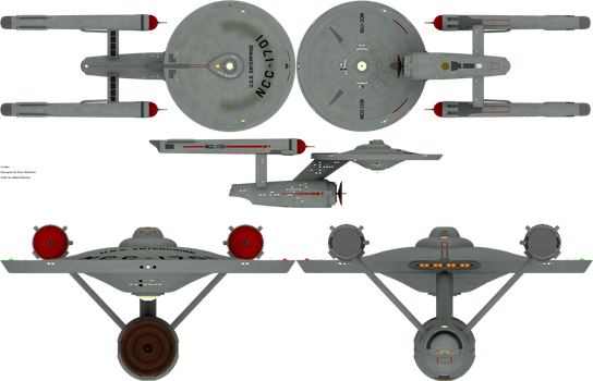 Constitution Class by admiral-horton