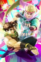JoJo's Bizarre Adventure: Battle Tendency by ravefirell