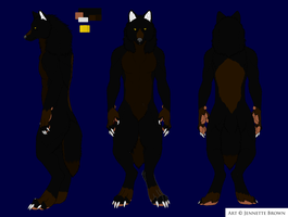 Wolf ref by Sexy-Slender-Dragon