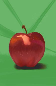 Apple 2 by jell-o-cat