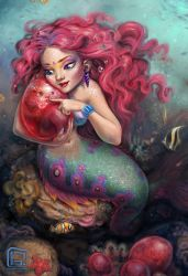 Mermaid will soon become a mother by RedreevGeorge
