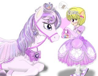 Princess and her pegasus 2 by AVCHonline