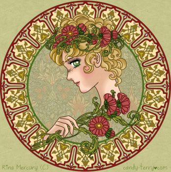 Candy Art Nouveau by mercuryZ