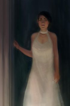 Woman In White by BrianKellum