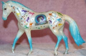 Breyer Let's Celebrate 1 of 3 Stock ~ Stock Horse by Lovely-DreamCatcher