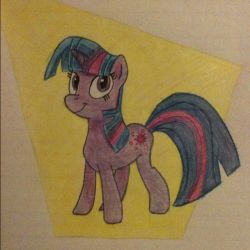Twilight Sparkle Drawing by Thefirehazard1