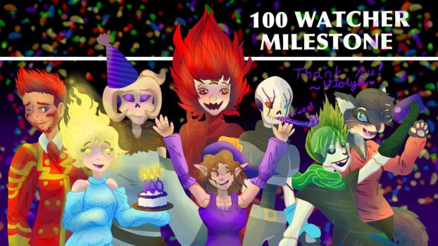 Here's to the next 100 by Violyd