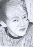 GOT7's Bambam Drawing by vkminime
