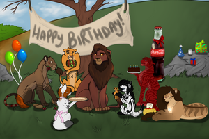 Happy Birthday Kovu~ by Shallur