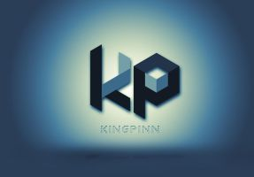 Dj Kingpinn Logo by BrettUK