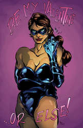 Bombshell Valentine's Day Card 2015 by Abt-Nihil