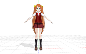 MMD model download: Asuna by EmmysMMDProductions