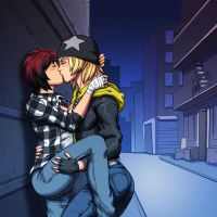 Dead or Alive: Mila X Tina Armstrong by TheEnigmaticUser