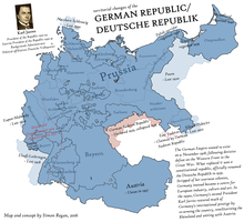 Weimar Forever - an Alternate History map by SRegan