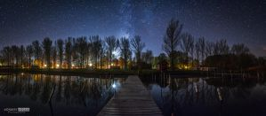 From the end of pier night by NorbertKocsis