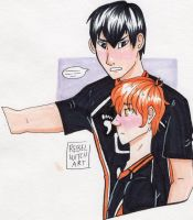more Kags and Hina by Witch-Planet