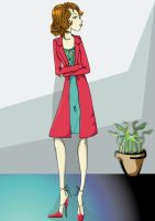 Lady in Red by silverivy