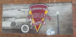 Welcome to Auburn, Indiana by SmilingY