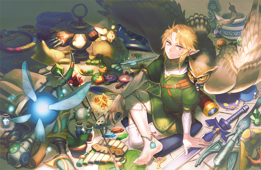 The Legend of Zelda:: Back from the Journey by kissai